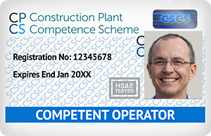 Blue CPCS Card - Competent Operator