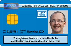 Blue (Skilled Worker) CSCS Card