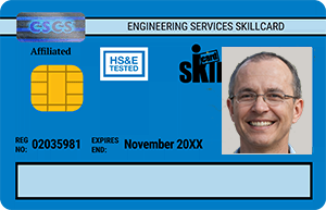 Blue SKILLcard - Experienced Worker