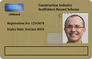 Gold CISRS Card - Advanced Scaffolder