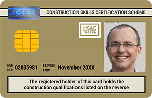 Gold CSCS Card - Advanced Craft